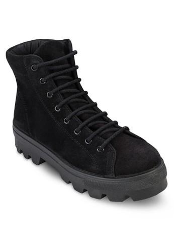 Avenue 厚底騎士短靴, 女鞋,esprit 評價 鞋