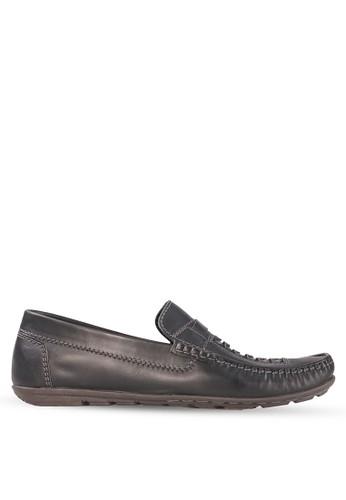 Tony Perotti black Tony Perotti Loafers Athaneus - Black TO890SH0VNG2ID_1