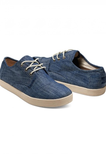 f737f389f5a Buy TOMS TOMS - MF Light Blue Chambray Paseo Lace-Up MN Online ...