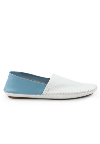 Shu Talk blue Comfy Bi-Color Causal Loafer Shoes SH397SH0GFJ3SG_1