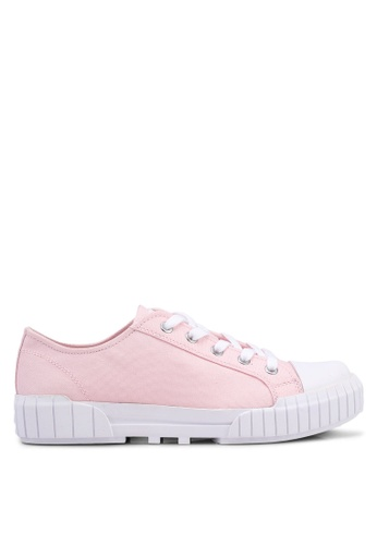 Calvin Klein 粉紅色 經典運動鞋 D4D00SHFD24DEFGS_1