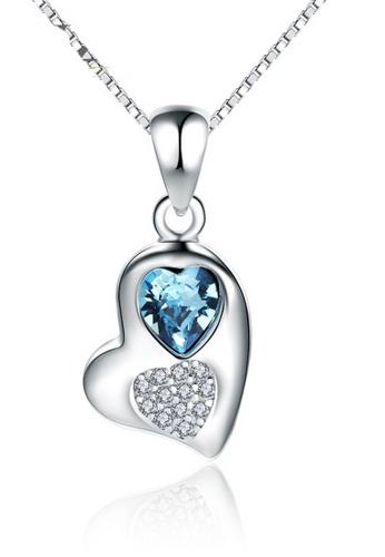 LYCKA silver LPP88118 S925 Silver Necklace 10613ACAA0E873GS_1