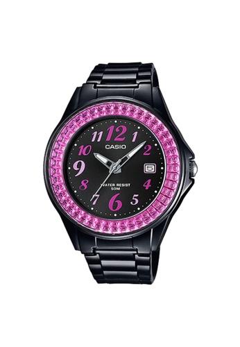 CASIO black CASIO WATCH LX-500H-1BVDF 12E69ACB9522A3GS_1