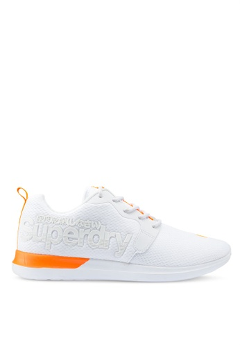 Superdry white Hyper Core Runners 17EFCSH261899AGS_1