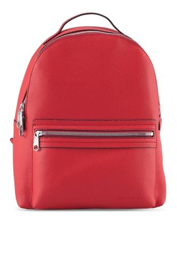 Calvin Klein orange Campus Backpack - Calvin Klein Accessories A7CF1ACB96071AGS_1