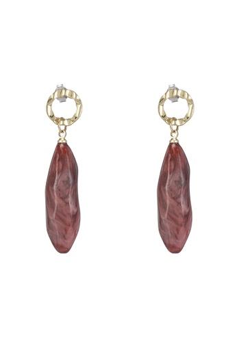 niko and ... pink Dangle Stone Earrings 3927FACC6FE066GS_1