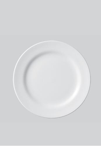 Claytan white 10016 Round Plate 93018HL98C5918GS_1