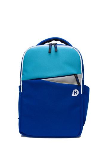 Kags blue KAGS Ashton Series 2.0 Ergonomic School Backpack - Blue 92D7DKC2C6108DGS_1