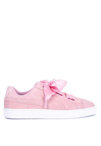 Puma pink Suede Heart Galaxy Wn'S Sneakers A6ADCSH1ECD619GS_1
