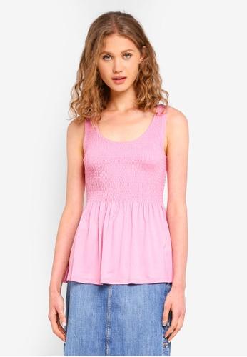 ESPRIT pink Short Sleeve T-Shirt 9B9E1AA6D106CAGS_1