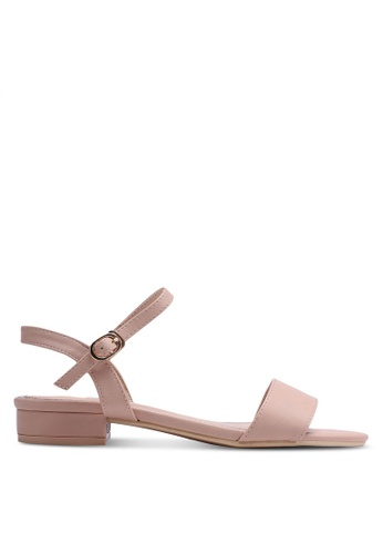 Nose beige Strappy Sandals EA29FSH9733CFDGS_1
