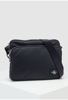 0dacbe1e09dfb2 Calvin Klein black Flat Crossbody Bag - Calvin Klein Accessories  60801ACFAF3182GS 1