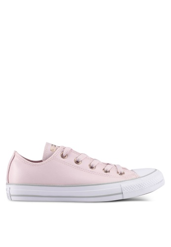Converse pink Chuck Taylor All Star Ox Sneakers 35C6FSH8BC3D3DGS_1