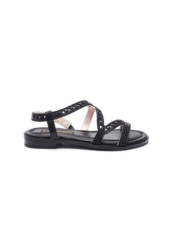 Elisa Litz black Tracee Sandals (Black) E65BBSH0552820GS_1