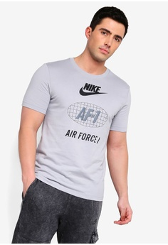 newest collection ca7ad 6b4e3 Nike grey As Men s Nsw Cltr Af1 1 Tee 466D9AACCFEACEGS 1