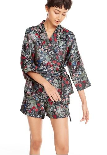 Pomelo multi Maggie Floral Kimono B6BF4AAAD1D3C1GS_1