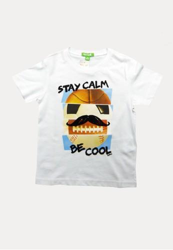 Bossini white Bossini Kids Boy T-Shirt Wht Pearl (03082401001) CFF46KAE73186FGS_1