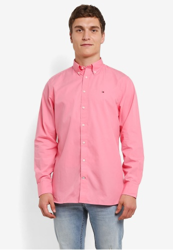 Tommy Hilfiger pink WCC 80 S TWO PLY POPLIN CF2 TO729AA0G1QYSG_1