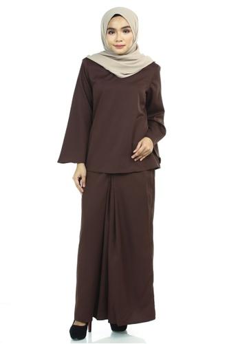 Ashura brown Betti Kurung Kedah 95D60AA360B322GS_1