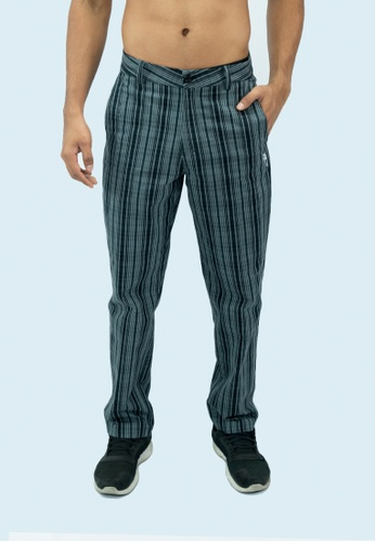 AMNIG 黑色 Amnig Men Precision Golf Pants (Black/Grey) 7A91DAAF0EA9F8GS_1