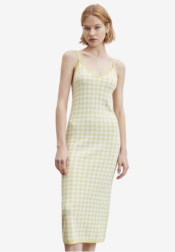 Urban Revivo yellow Casual Dress 84F99AA3410998GS_1