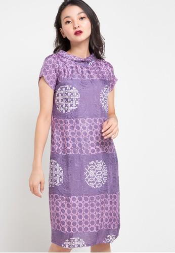 Vestiti purple Nidya Bow Dress 084E1AAA820502GS_1