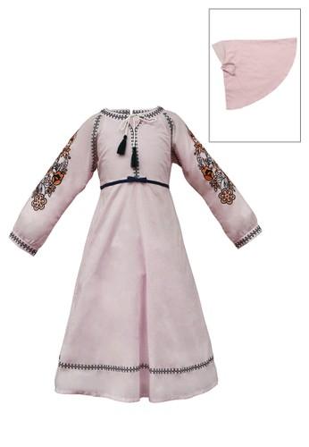 INFINE pink Muslim Dress Anak Esm 173 6/12 8E2A4KA189F736GS_1