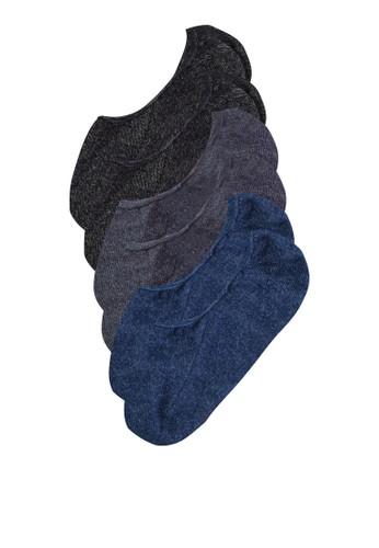 三入船型襪、 服飾、 服飾ZALORA三入船型襪最新折價
