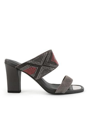 Joy & Peace grey Embellished Sandals JO458SH81YGSHK_1