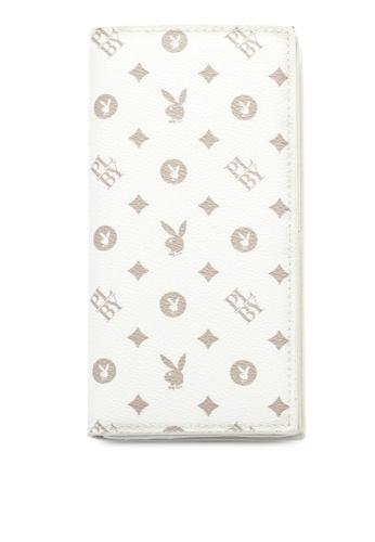 Playboy white RFID Blocking Long Wallet 6CDB8AC8157686GS_1