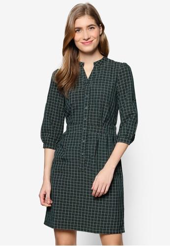 Lovisa 格紋esprit 京站襯衫連身裙, 服飾, 洋裝