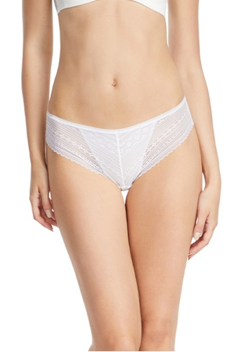 6IXTY8IGHT white Lace Low-rise Cheeky Panty PT09015 5ECF5USCEA2D42GS_1