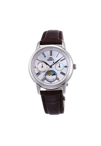 Orient white and brown Orient Sun & Moon Lady ORRA-KA0005A 084ADACCEFFF21GS_1
