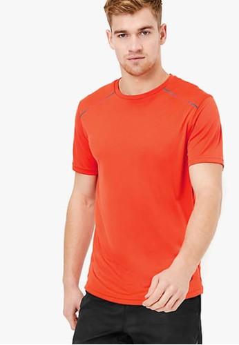 MARKS & SPENCER orange Active Reflective Trim T-Shirt ABC93AA4E43AB9GS_1