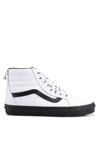 VANS white Authentic Otw Webbing Sneakers 0538ESH3BE5C51GS 1 07084b60ab