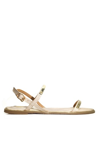 Twenty Eight Shoes gold Sexy Strappy Flat Sandals VS8868 C7A4CSH1BE581EGS_1