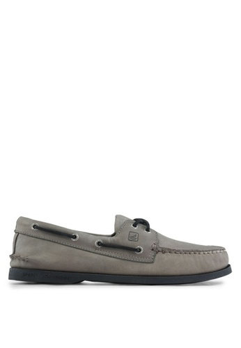 Sperry grey Authentic Original 2-Eye Classic Boat Shoes SP921SH43QKYSG_1