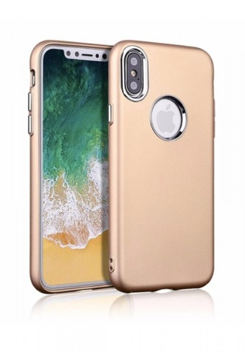 MobileHub gold X-Level Soft Case For Apple iPhone X MO220AC0KB6NPH_1