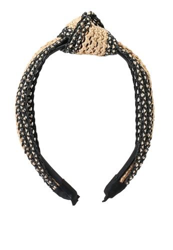 ALDO black Adwaliclya Head Band BA1FEACACD4F45GS_1