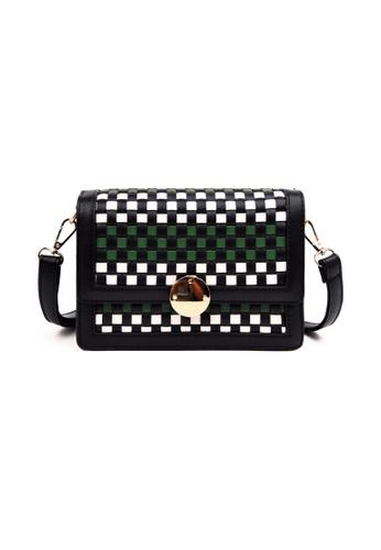 Lara black Women's Fashionable Crossbody Bag A8A09ACB1E33C9GS_1