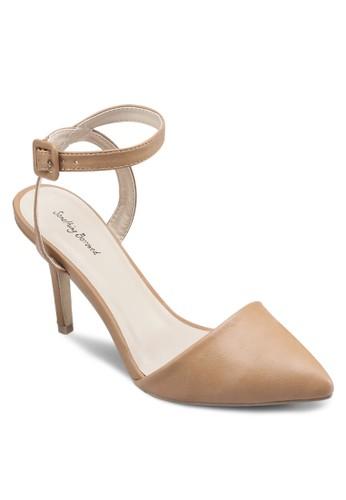 尖頭繞踝高zalora taiwan 時尚購物網鞋子跟涼鞋, 女鞋, 細帶高跟鞋