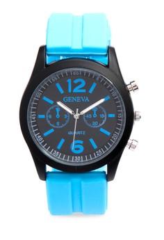 Silicone Sporty Watch