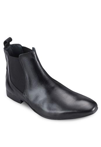 皮革切esprit女裝爾西踝靴, 鞋, 鞋