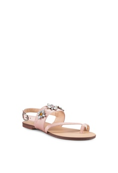 578686c042e01a ZALORA Gem Embellished Sandals S  44.90. Sizes 35