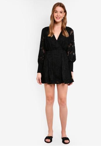 Finders Keepers black Midnight Mini Dress 71833AA62659D7GS_1