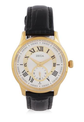 ZECA gold Zeca Watches Couple Ladies Fashion - 302L Black Gold ZE074AC0WDAEID_1
