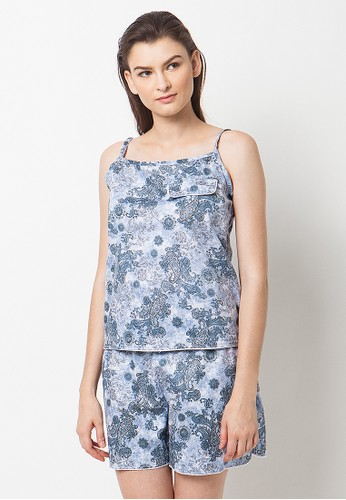 Madeleine's Dallie Blue Set Pajamas