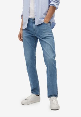 MANGO Man blue Slim Fit Ultra Soft Touch Patrick Jeans 01B24AA771DF62GS_1