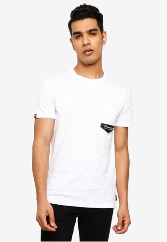 SUPERDRY white Surplus Goods Classic Pocket Tee 21575AA99DC3DEGS_1