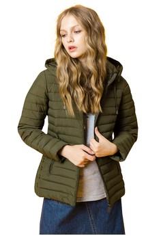 OUWEY歐薇 率性簡約鋪棉外套